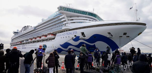 61 заболевший на борту Diamond Princess